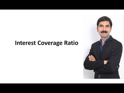 Accounting Ratios 5 Interest Coverage Ratio