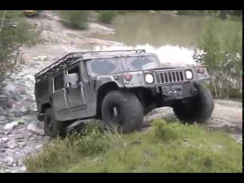 Hummer H1 Offroading Highlights - YouTube