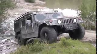 Hummer H1 Offroading Highlights