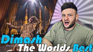 Reacting to Dimash - All By Myself on The World&#39s Best YOU NEED TO HEAR THIS...