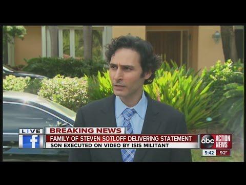 Family of Steven Sotloff delivers statement