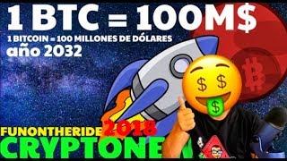 ¡POR QUÉ 1 BITCOIN VALDRÁ 100 MILLONES DE DOLARES EN 2032!? 🤑🚀