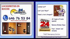ROCHE LOCKSMITHS *646 765 384 *  24 hour Locksmith Roche