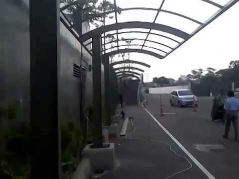 Bina Karya Rangka Canopy Kanopi Pedestrian Mal Baja Mandiri Tangerang