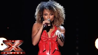 Fleur East sings Mariah Carey's All I Want For Christmas | Live Semi-Final | The X Factor UK 2014