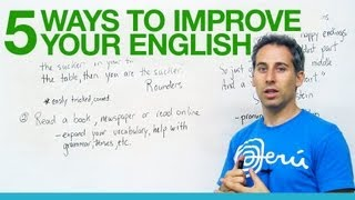 5 great ways to improve your English! thumbnail