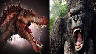 Spinosaurus vs King Kong: 2018 (HD)