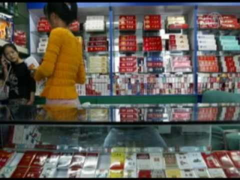 NTDTV: Tobacco Companies Sponsor 69 Elementary Schools in China