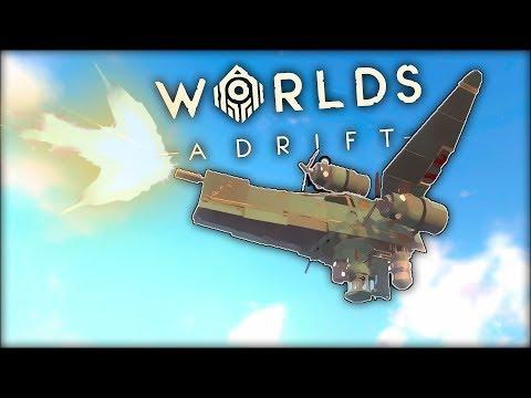 MY BEST SHIP YET!!!   Worlds Adrift Closed BETA Gameplay (PC)