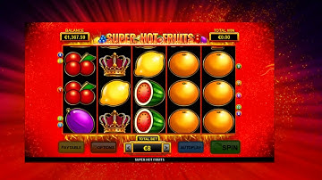 Super Hot Fruits - Jackpot and Feature game