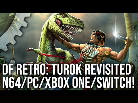 DF Retro: Turok Dinosaur Hunter - How An N64 Classic Evolved The Console FPS