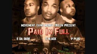 Movement Gang Money Green-Back Against The Wall