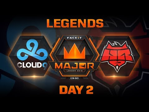 Cloud9 vs Hellraisers - Overpass (FACEIT Major: London 2018)
