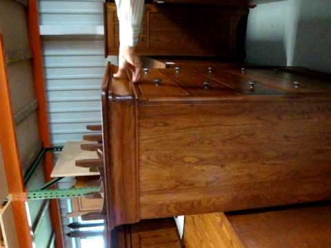 Amish Furniture Chateau Hidden Velvet Lined Jewelry Drawers