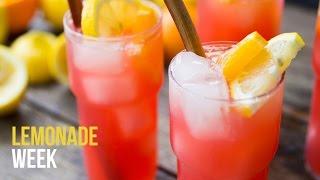 Rhubarb Lemonade | Lemonade Week