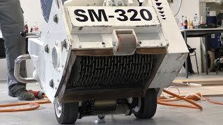 Jak odfrézovat beton nebo anhydrit až o 12mm