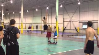Jump Training Columbus Oh - The Spot Athletics - Increase Your Vertical Like This