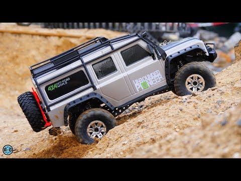 HB ZP1001 RC Crawler Unboxing And First Test Drive With The Traxxas TRX4 Clone!