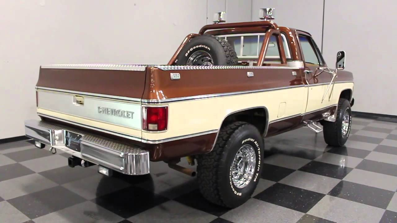 1699 Atl 1980 Chevy K 10 Silverado Youtube