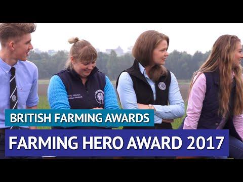 Farmers Guardian Farming Hero - British Farming Awards 2017