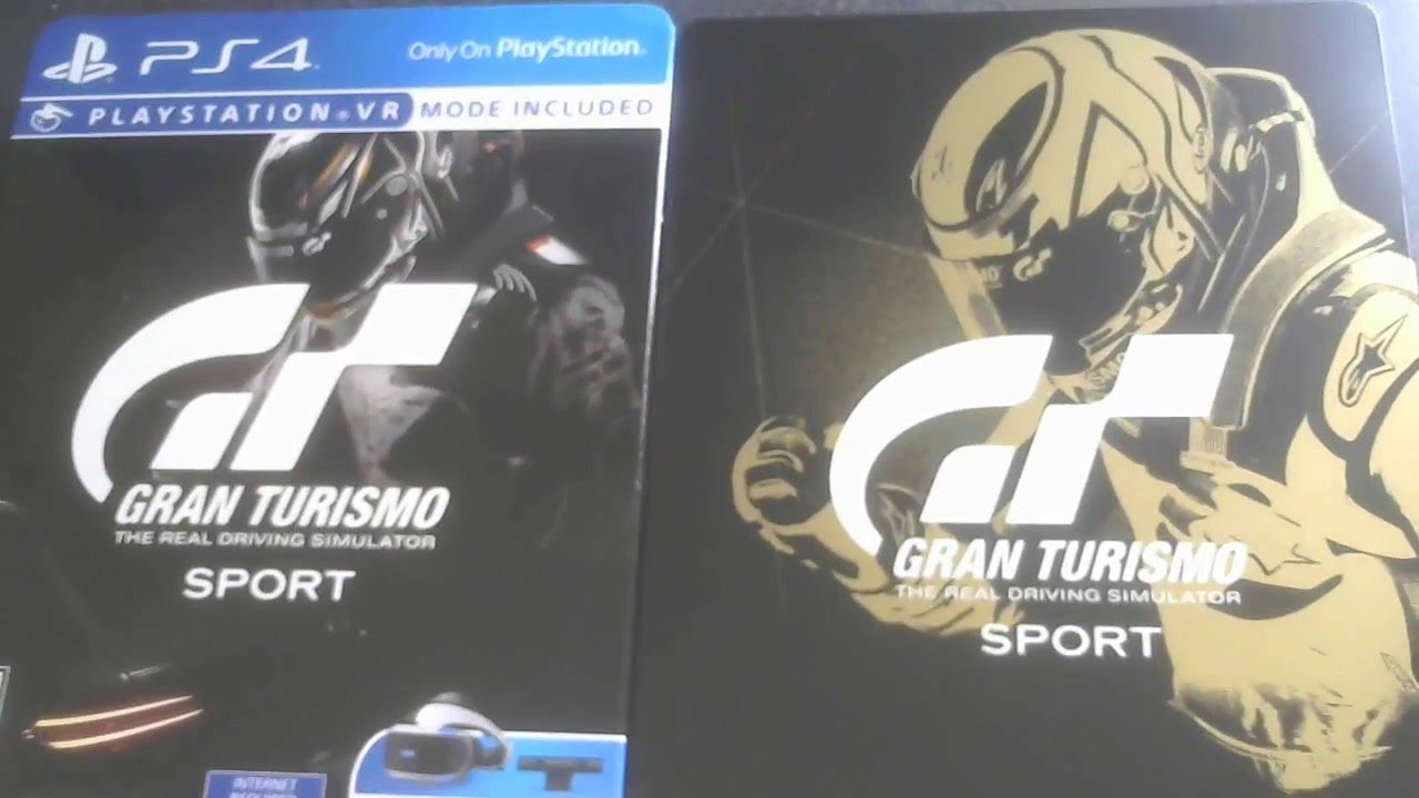 ps4 unboxing gran turismo sport limited edition unboxing with classy steelbook case youtube. Black Bedroom Furniture Sets. Home Design Ideas