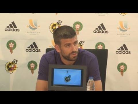Piqué confirma que no volverá a jugar con la selección española - 동영상