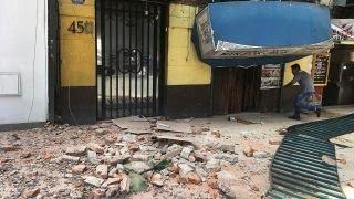 Powerful 7.1 earthquake shakes Mexico City thumbnail