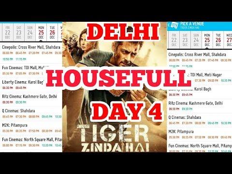 TIGER ZINDA HAI DAY 4 ALL SHOWS HOUSEFULL IN DELHI | SALMAN KHAN