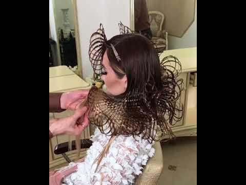 New Creative Hair Design - Amazing hair style