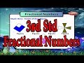 Fractional Numbers  || 3th std Maths Syllabus ||  Exercises and Activities || Learn Maths for Kids