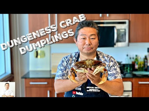 Live Dungeness Dumplings | Steamed And Pan Fried