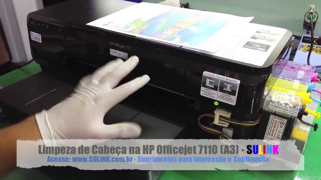 Limpeza Técnica Do Cabeçote Hp 7110 7610 7612 E Similares