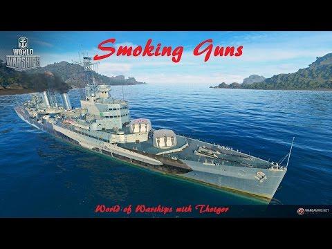 World of Warships- Smoking Guns