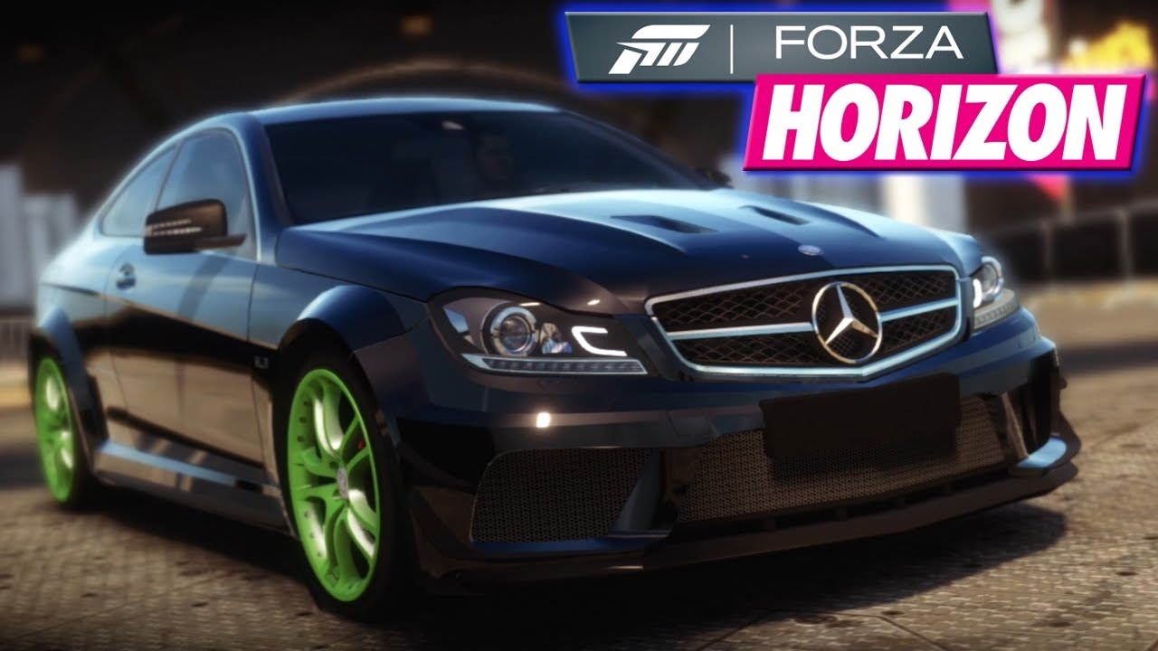 "C63 Amg Black Series >> Forza Horizon - ""Tuning my new car: Mercedes Benz C63 AMG ..."