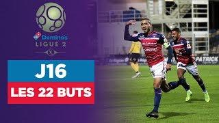 VIDEO: Domino's Ligue 2 (J16) : Les 22 buts de la soirée !