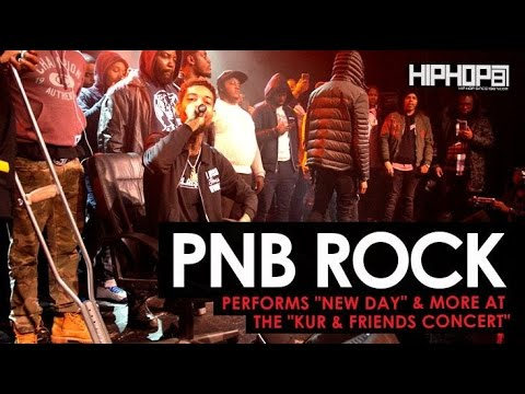 PnB Rock Performs