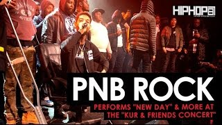 """PnB Rock Performs """"Too Many Years"""" & """"New Day"""" at """"The Kur And Friends Concert"""""""