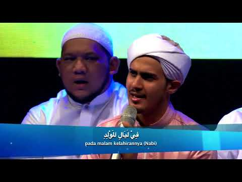 Senandung SHOLAWAT Bersama HABIB SYECH BIN ABDUL QODIR ASSEGAF With Lirik Arab Dan Terjemah HD
