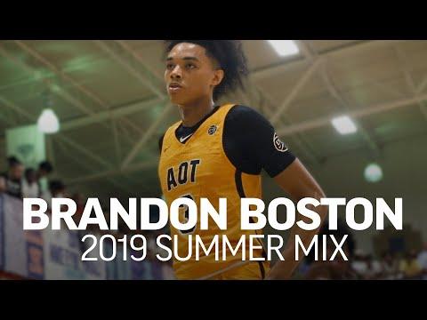 Kentucky Commit Brandon Boston Is A PROBLEM! 😈 Official 2019 Summer Mixtape