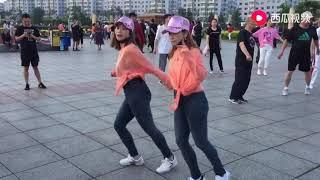 广场鬼步舞《灵灵》简单好看的舞步,零基础也可以学会