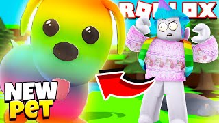 *NEW* RAINBOW PETS in Adopt Me! GIANT PETS and MINI PETS! Roblox Adopt Me Update