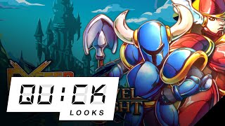 Shovel Knight: EXCEED Card Fighter: Quick Look (Video Game Video Review)