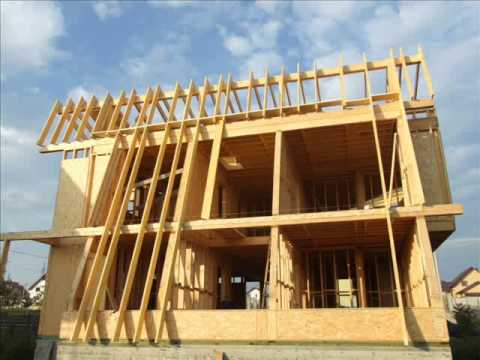How To Build A Wood House Youtube