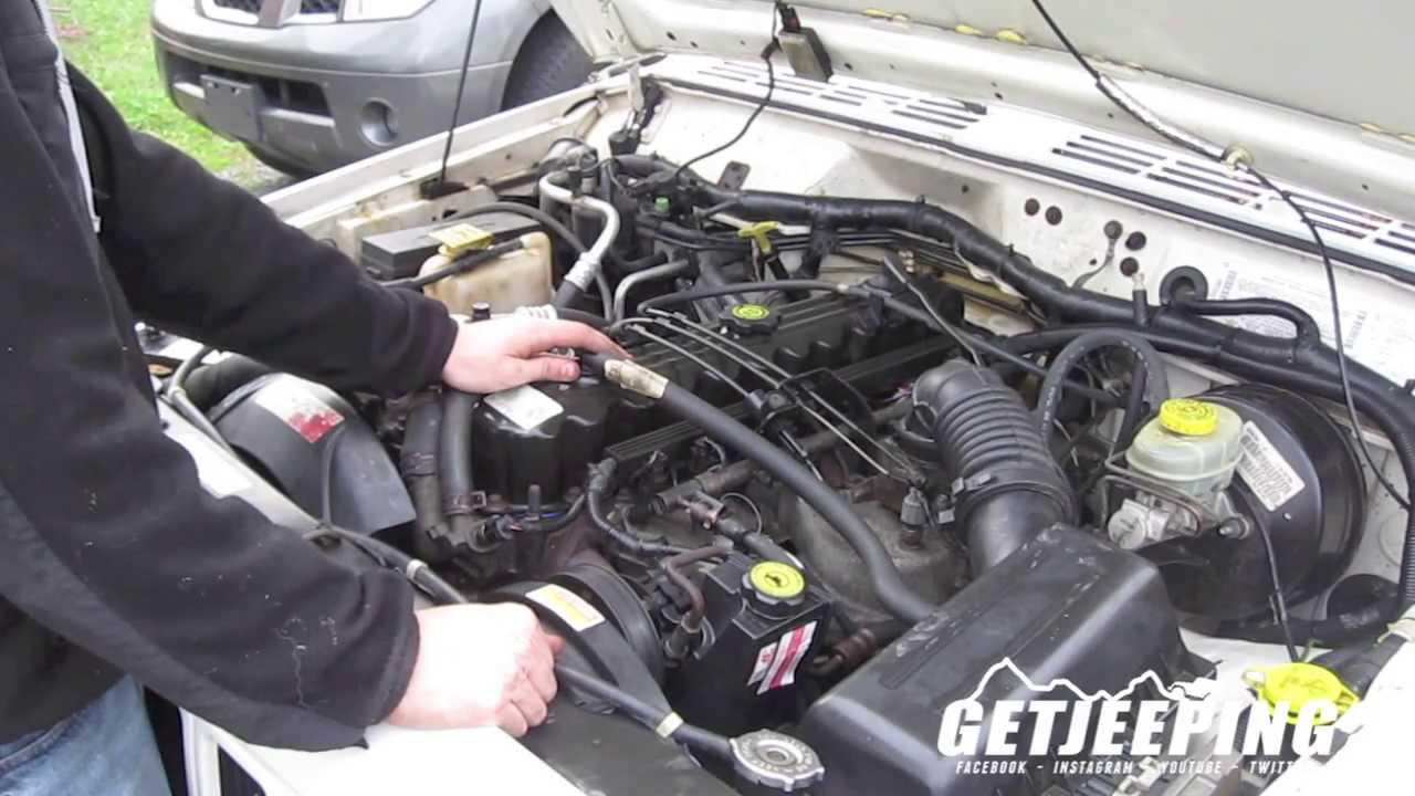 maxresdefault how to replace ignition coil pack on 1997 2001 jeep cherokee xj  at readyjetset.co