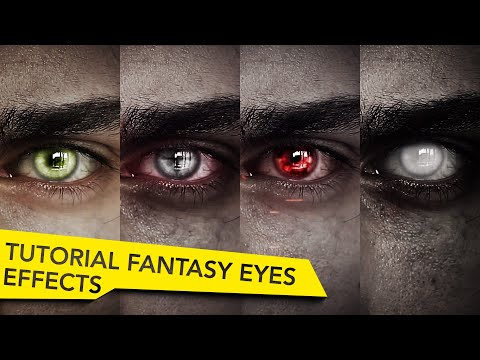 After Effects Fantasy Eyes Tutorial   Elf, Witcher, Vampire, Undead