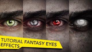 After Effects Fantasy Eyes Tutorial   Elf, Witcher, Vampire, Undead