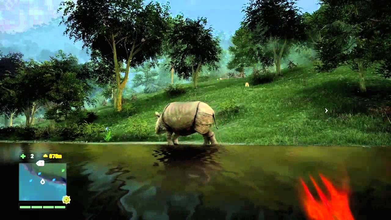Far Cry 4 crocodile attack - YouTube