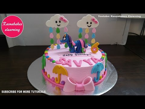 My Little Pony Rainbow Dash Mlp Birthday Cake Design Ideas Decorating Tutorial Video Classes Courses