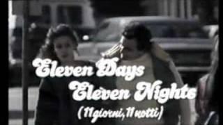 ELEVEN DAYS, ELEVEN NIGHTS (11 GIORNI & 11 NOTTI) Regia Joe D'Amato - Trailer