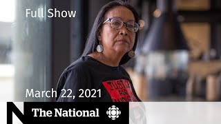 CBC News: The National   Pain, vindication for Colten Boushie's mother   March 22, 2021